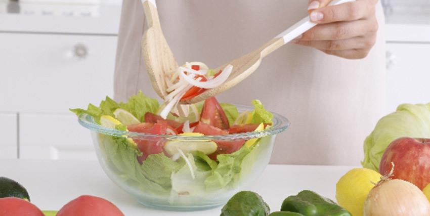 野菜の多い食事