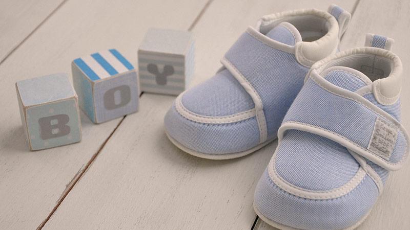 男の子の靴