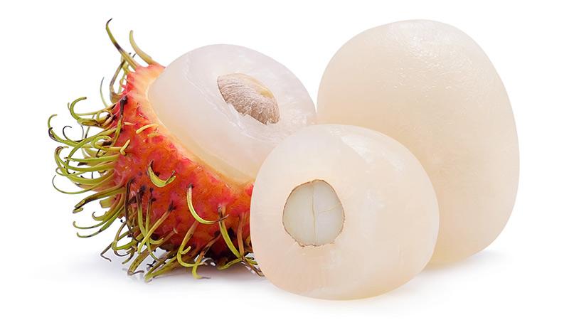 毛の生えた果物