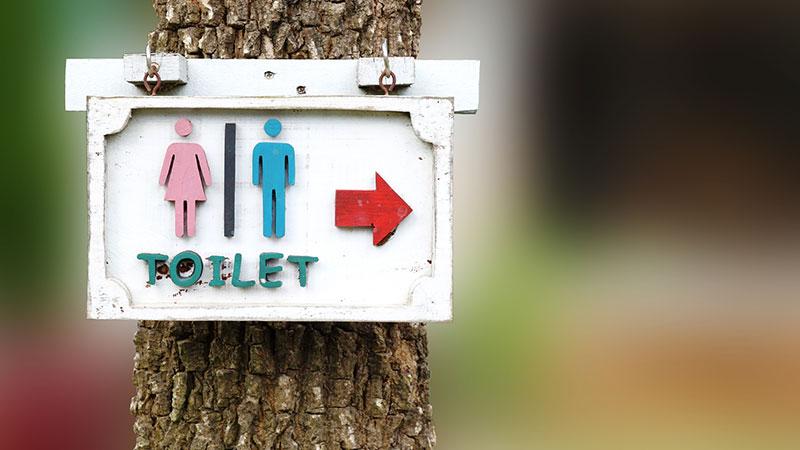 トイレの標識